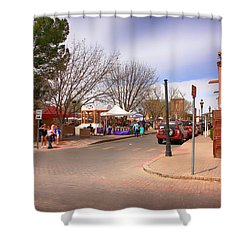 Plaza De Mesilla Shower Curtain