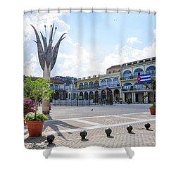 Plaza Vieja Shower Curtain