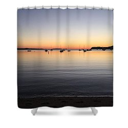 Pleasant Bay Shower Curtain