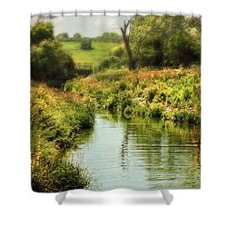Pleasant Creek Shower Curtain