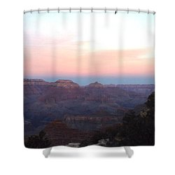 Pleasant Evening At The Canyon Shower Curtain by Adam Cornelison