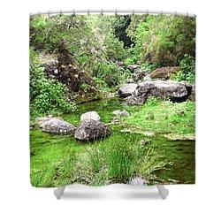 Pleasant Nature Shower Curtain