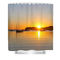 Pleasant Ray Shower Curtain