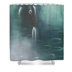 Please Don't Be Angry Shower Curtain