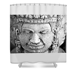 Pleasure Anger Sorrow Joy Shower Curtain