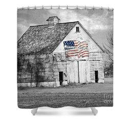 Pledge Of Allegiance Crib Shower Curtain