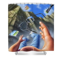 Plein Air Shower Curtain by Jerry LoFaro