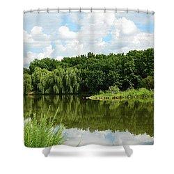 Plein Air Shower Curtain