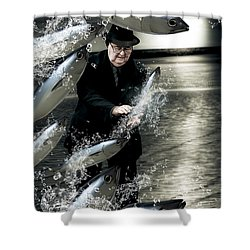 Plenty Of Fish In The Sea Shower Curtain by Jorgo Photography - Wall Art Gallery