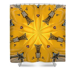 Plenty Of Trunk Space Shower Curtain