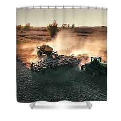 Plow The Fields And Scatter  Shower Curtain