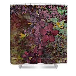Shower Curtain featuring the photograph Plum Blossom by LemonArt Photography