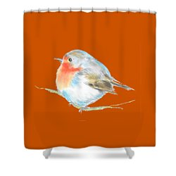 Plump Is Good  Shower Curtain