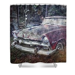 Shower Curtain featuring the photograph Plymouth Belvedere by Debra and Dave Vanderlaan