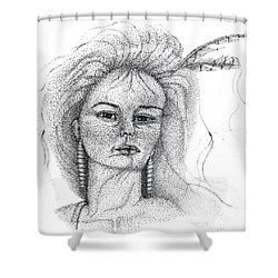 Pocahontas Shower Curtain