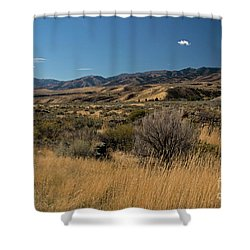 Pocatello Area Of South Idaho Shower Curtain by Cindy Murphy - NightVisions
