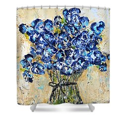 Pocket Full Of Posies Shower Curtain