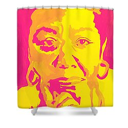 Poetically Speaking  Shower Curtain by Miriam Moran