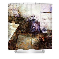 Poets In Picardy Shower Curtain by Claire Bull