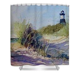 Point Betsie Shower Curtain