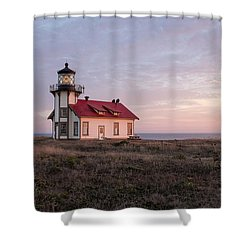 Point Cabrillo Light House Shower Curtain