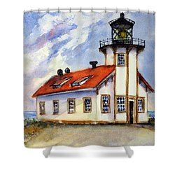 Point Cabrillo Light Station - Fort Bragg Shower Curtain