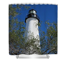 Point Isabel Light Shower Curtain