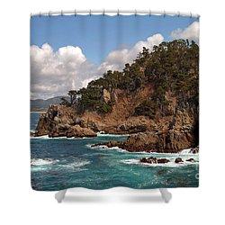Point Lobos Shower Curtain