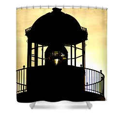 Shower Curtain featuring the photograph Point Loma Lighthouse by Christopher Woods
