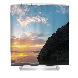 Shower Curtain featuring the photograph Point Meriwether by Ryan Manuel