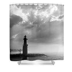 Point Of Inspiration Shower Curtain by Bill Pevlor