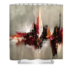 Point Of Power Shower Curtain