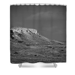 Point Of Rocks Shower Curtain