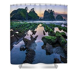 Point Of The Arches Shower Curtain