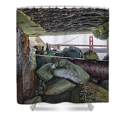 Shower Curtain featuring the photograph Point Of View by Steve Siri