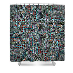 Point Of View Shower Curtain by Tim Allen