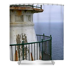 Point Reyes And The Pacific Ocean Shower Curtain