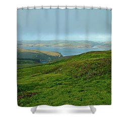 Point Reyes Overlooking Tomales Bay Shower Curtain