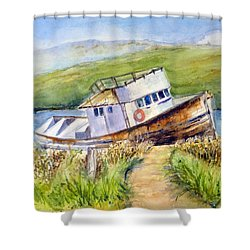Point Reyes Relic Shower Curtain