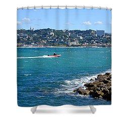 La Pointe Rouge Marseille Shower Curtain