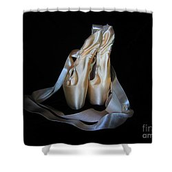 Pointe Shoes1 Shower Curtain