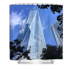 Pointed Shower Curtain