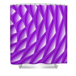 Points Abstract Colour Choice Shower Curtain