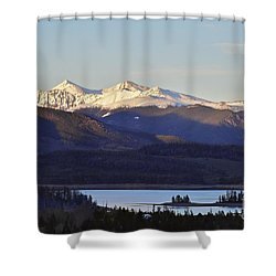 Points Shower Curtain