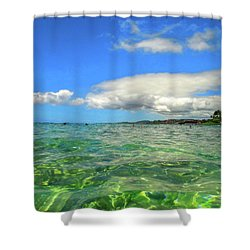 Poipu Beach Shower Curtain