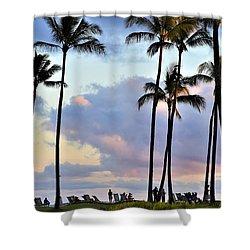 Poipu Beach Shower Curtain
