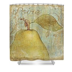 Poire Shower Curtain