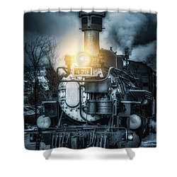 Shower Curtain featuring the photograph Polar Express by Darren White