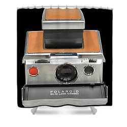 Polaroid Sx-70 Land Camera Shower Curtain