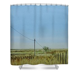 Poles Apart Shower Curtain